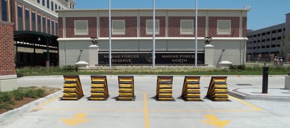 Delta Scientific: Wedge Barricade DSC2000 New Orleans Marine Base