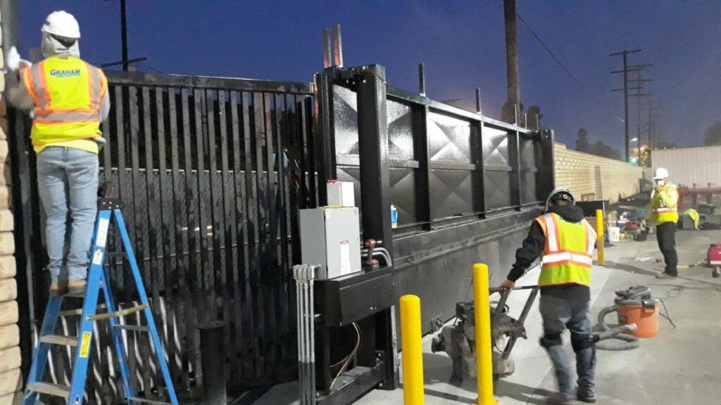 TT300 Sliding Gate LAX Fuel Security | Delta Scientific Corporation