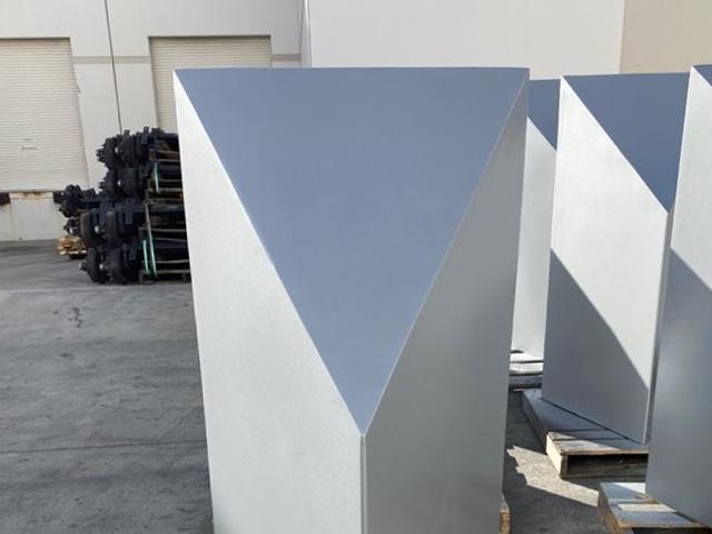 Triangle Bollard Casting