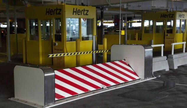 DSC1450 Surface Mounted Security Hertz Rental Car   Delta Scientific Corporation