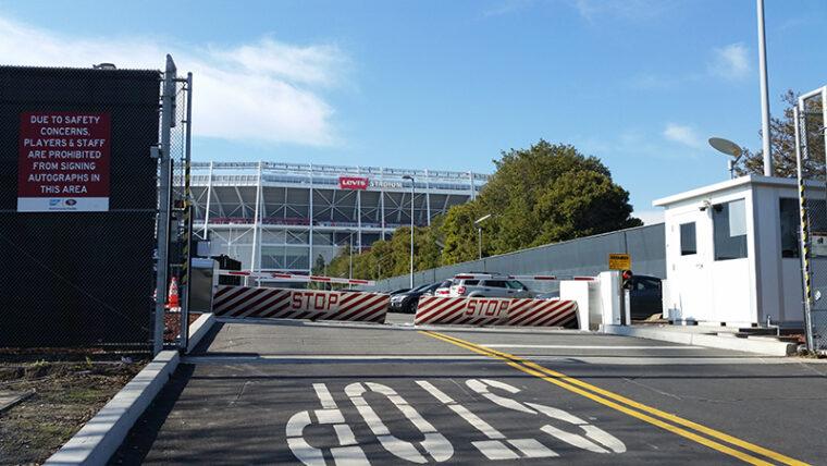 Parking Lot Barricades