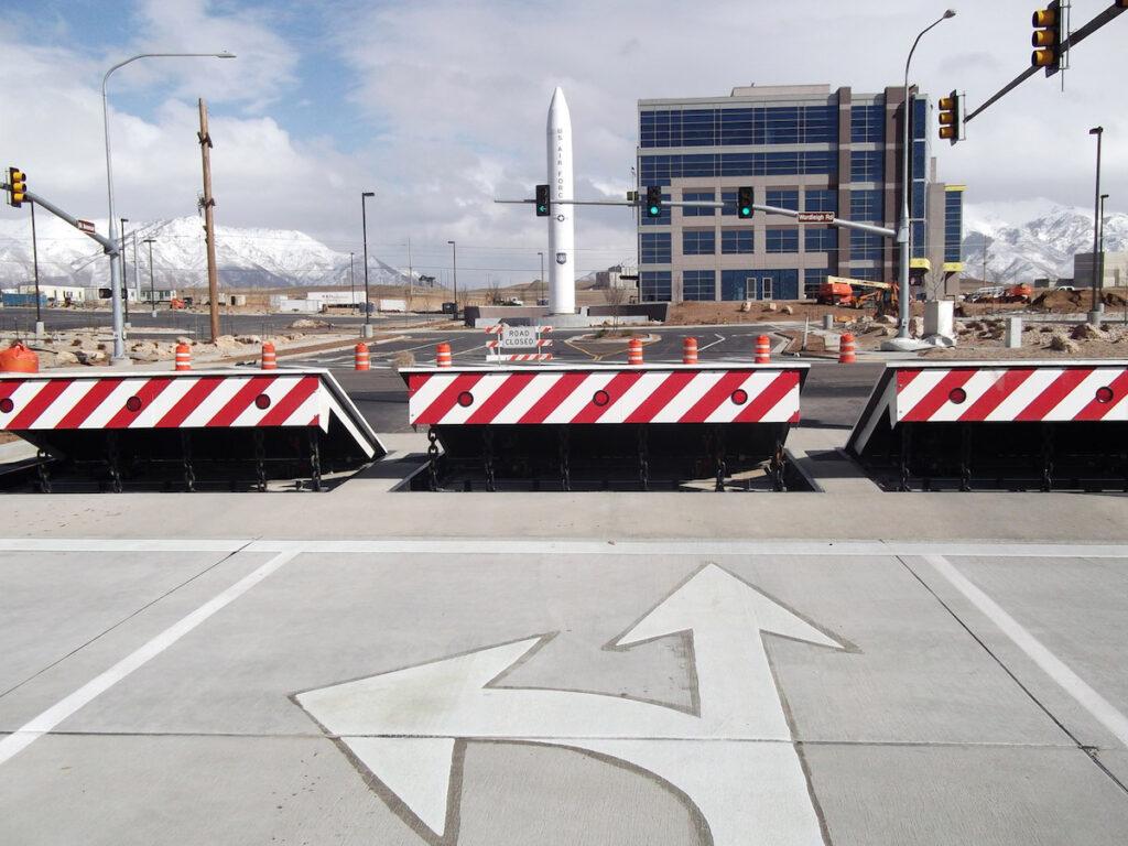 High Security Wedge Barricades | Delta Scientific