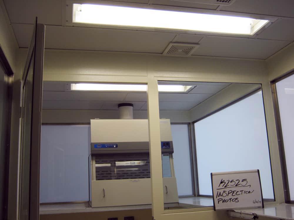 Mail Room Inspection BioBooth | Delta Scientific
