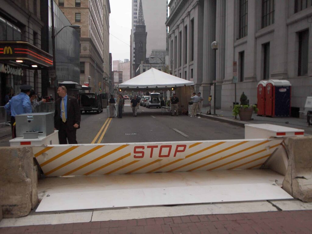 At Democratic Convention, Delta Portable Anti-Terrorist Barriers to Protect Against Vehicle Threats