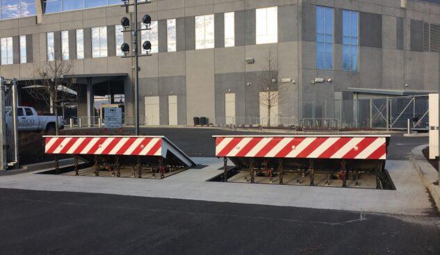 DSC501 High Security Wedge Barricade Mercedes Benz Stadium | Delta Scientific