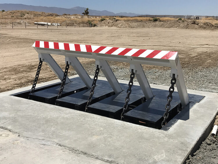 Shallow Foundation Barricade DSC550