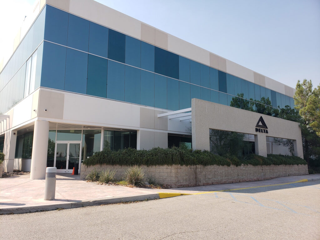 Delta Scientific Headquarters Building Palmdale, CA