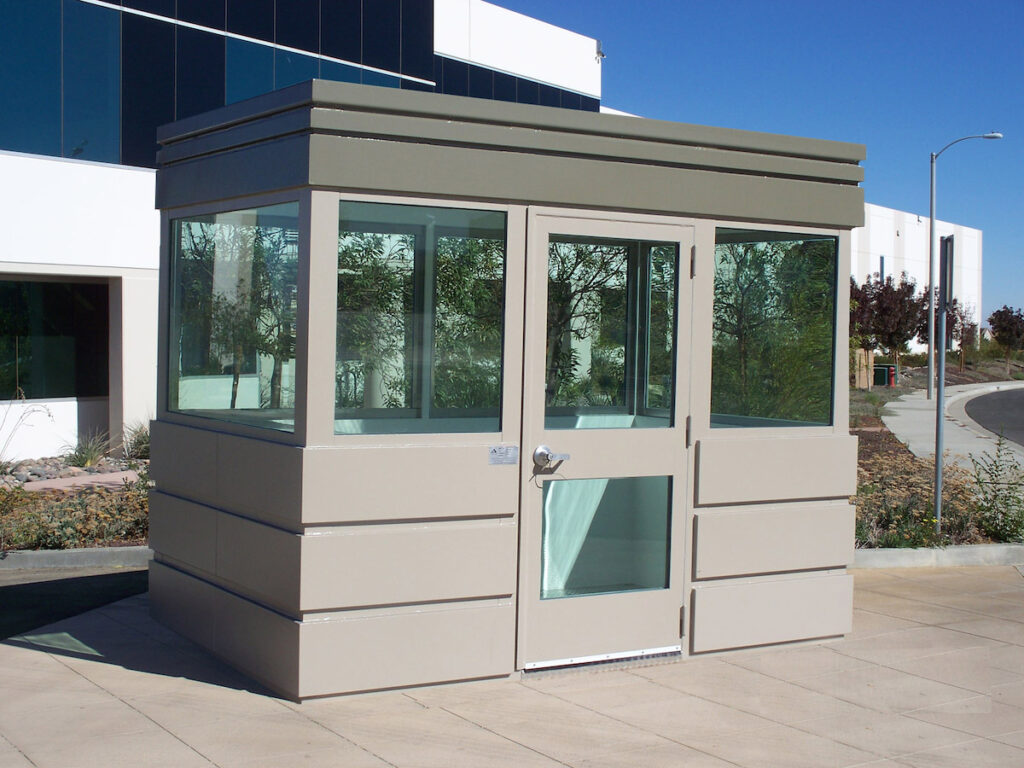 High Security Guard Booth | Delta Scientific