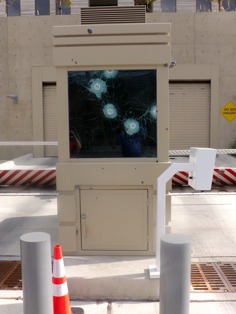 Bullet Resistant Level 4 High Security Guard Booth