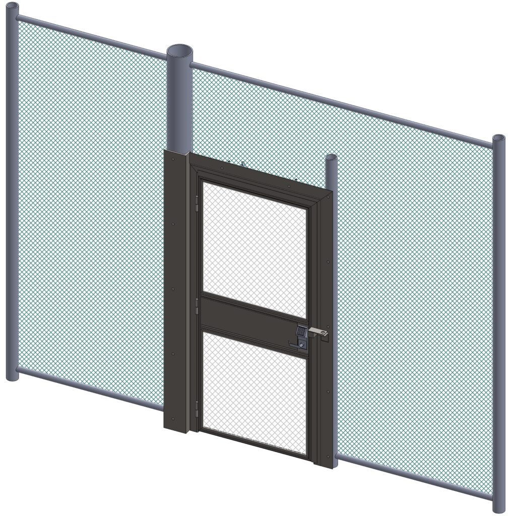 J10037 Anti-Climb Gate Fence