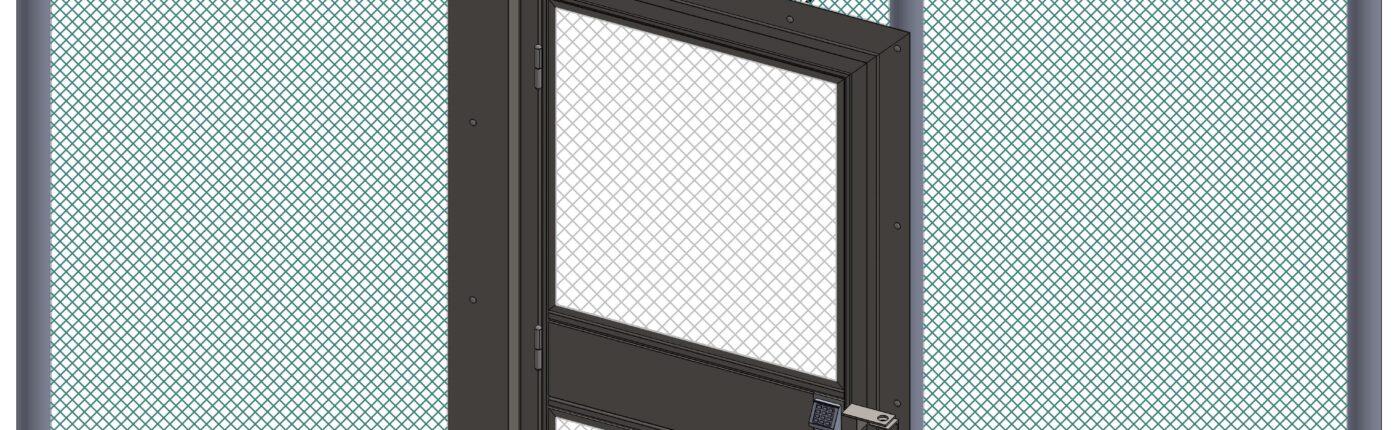 J10037 Anti-Climb Gate Fence