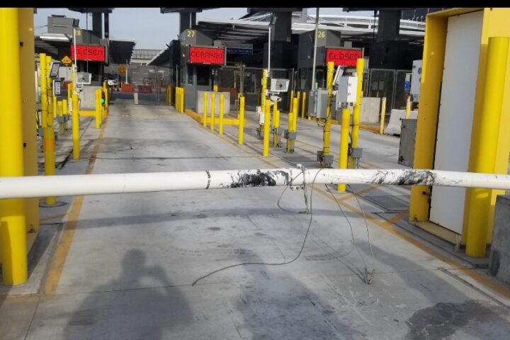 Delta Scientific Barrier Stops Intruder at U.S./Mexican Border