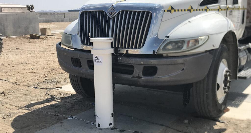 High Security Single Shallow Foundation Bollard DSC633 | Western Pump
